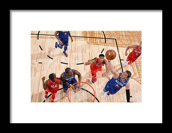 Nba Pro Basketball Framed Print featuring the photograph 69th NBA All-Star Game by Jesse D. Garrabrant