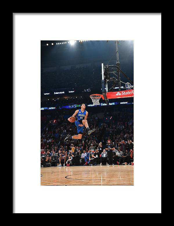 Event Framed Print featuring the photograph Aaron Gordon by Jesse D. Garrabrant