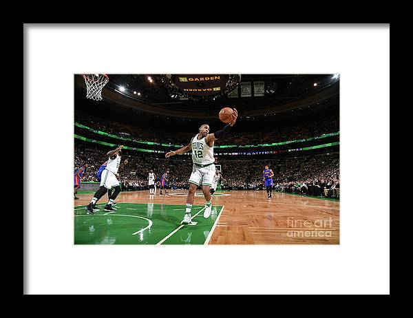 Nba Pro Basketball Framed Print featuring the photograph Al Horford by Brian Babineau