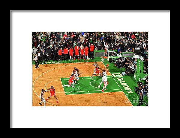 Nba Pro Basketball Framed Print featuring the photograph Al Horford by Jesse D. Garrabrant