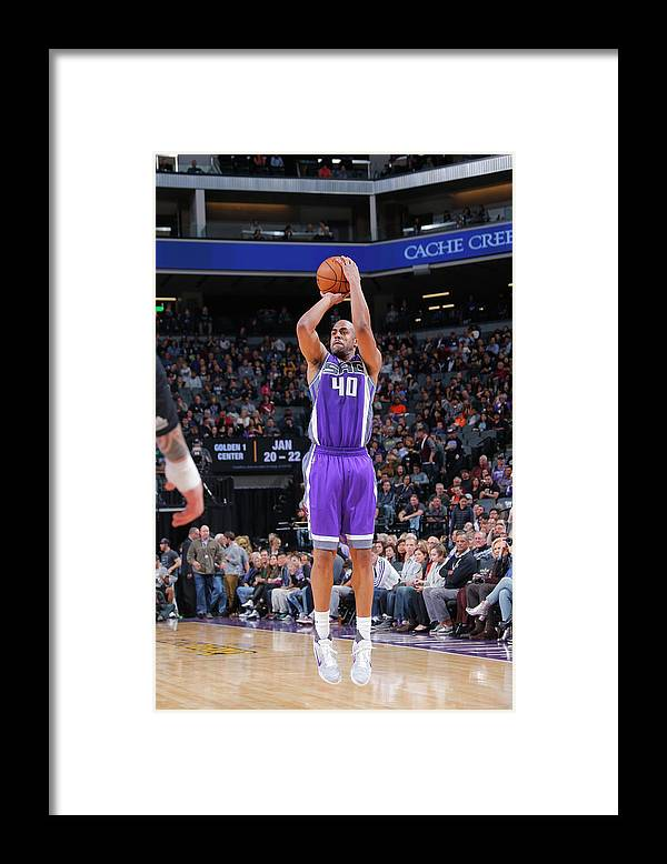 Nba Pro Basketball Framed Print featuring the photograph Arron Afflalo by Rocky Widner