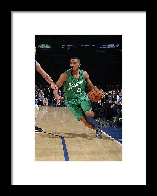 Nba Pro Basketball Framed Print featuring the photograph Avery Bradley by Nathaniel S. Butler
