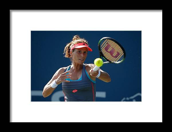 Mona Barthel Framed Print featuring the photograph Bank of the West Classic - Day 5 by Ezra Shaw
