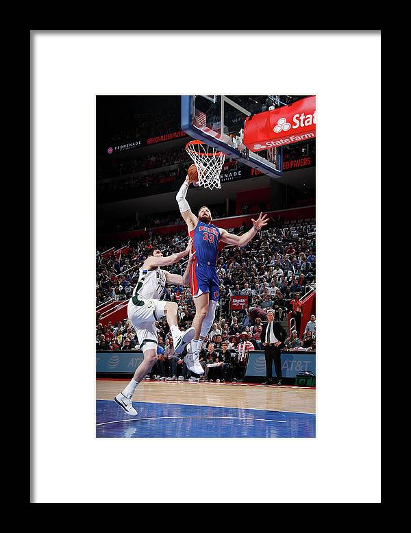Playoffs Framed Print featuring the photograph Blake Griffin by Brian Sevald