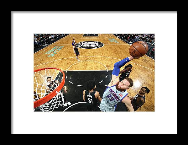 Nba Pro Basketball Framed Print featuring the photograph Blake Griffin by Nathaniel S. Butler