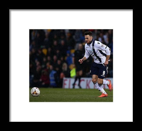 England Framed Print featuring the photograph Bradford City v Millwall - Sky Bet League One by Daniel L Smith