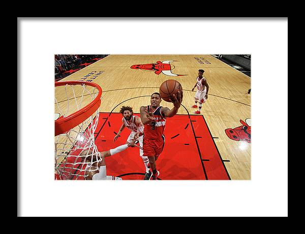 Nba Pro Basketball Framed Print featuring the photograph Bradley Beal by Gary Dineen