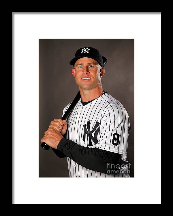 People Framed Print featuring the photograph Brett Gardner by Elsa