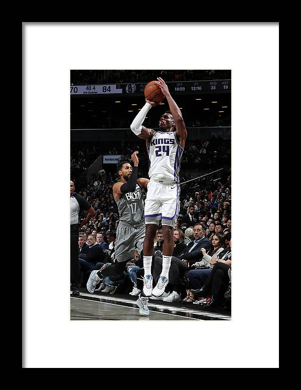 Nba Pro Basketball Framed Print featuring the photograph Buddy Hield by Nathaniel S. Butler