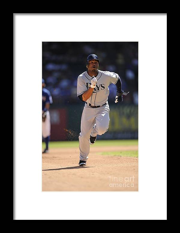 American League Baseball Framed Print featuring the photograph Carl Ray by John Williamson