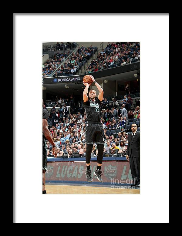 Nba Pro Basketball Framed Print featuring the photograph Chandler Parsons by Joe Murphy