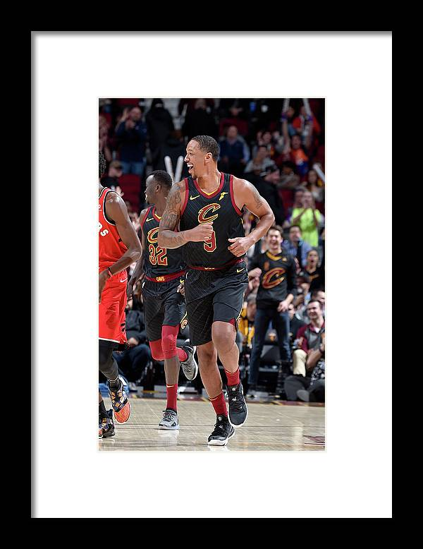 Nba Pro Basketball Framed Print featuring the photograph Channing Frye by David Liam Kyle