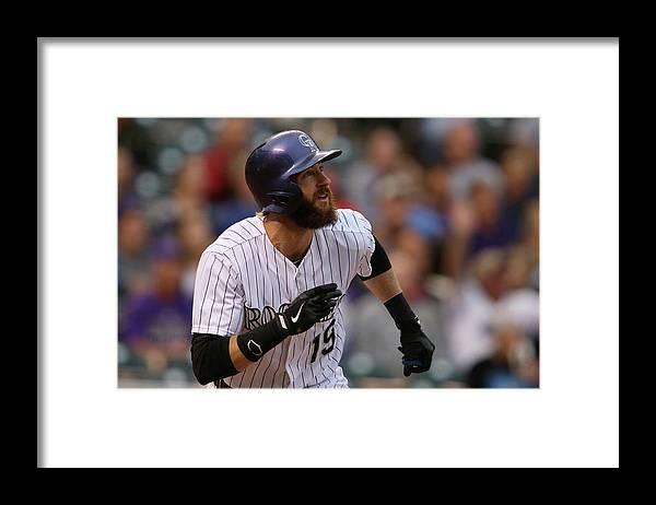American League Baseball Framed Print featuring the photograph Charlie Blackmon by Doug Pensinger