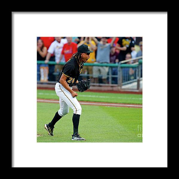 Second Inning Framed Print featuring the photograph Chris Archer by Justin K. Aller