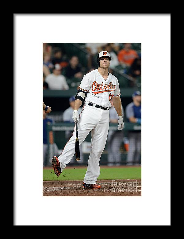 People Framed Print featuring the photograph Chris Davis by Greg Fiume