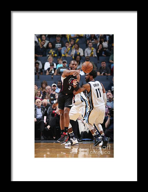 Nba Pro Basketball Framed Print featuring the photograph Chris Paul by Joe Murphy