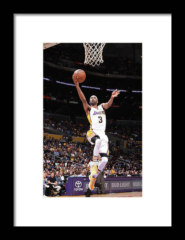 Nba Pro Basketball Framed Print featuring the photograph Corey Brewer by Andrew D. Bernstein