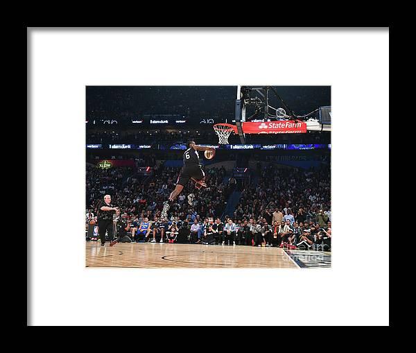 Event Framed Print featuring the photograph Deandre Jordan by Jesse D. Garrabrant