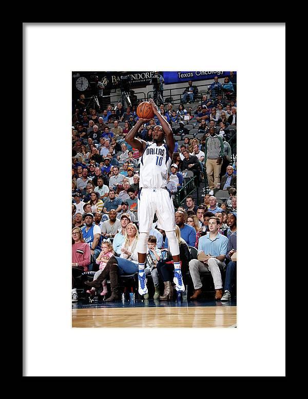 Nba Pro Basketball Framed Print featuring the photograph Dorian Finney-smith by Glenn James