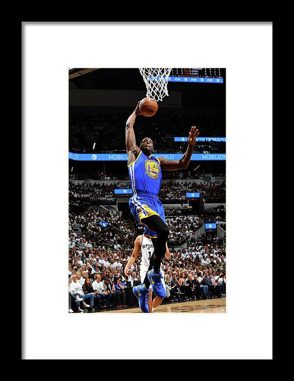 Playoffs Framed Print featuring the photograph Draymond Green by Jesse D. Garrabrant
