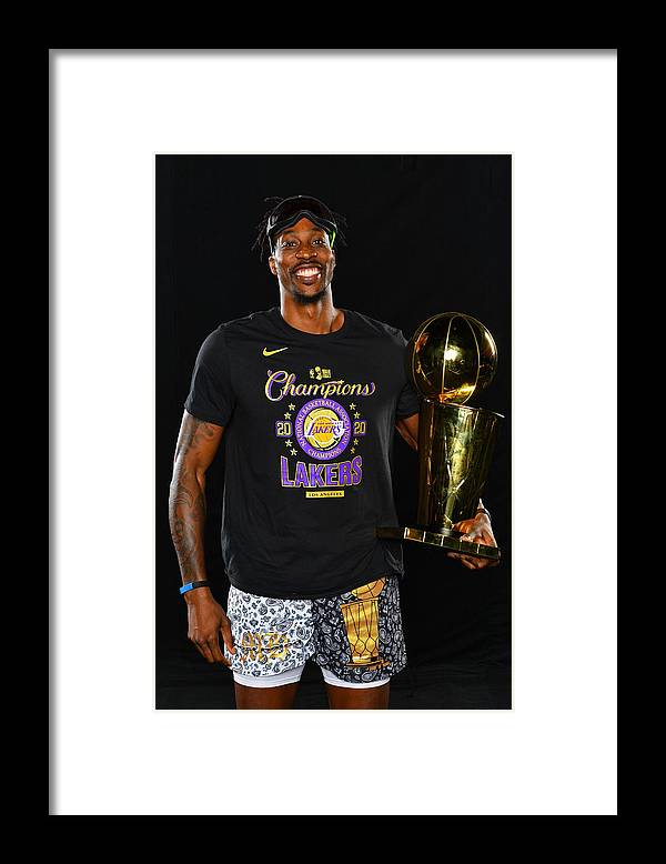 Playoffs Framed Print featuring the photograph Dwight Howard by Jesse D. Garrabrant