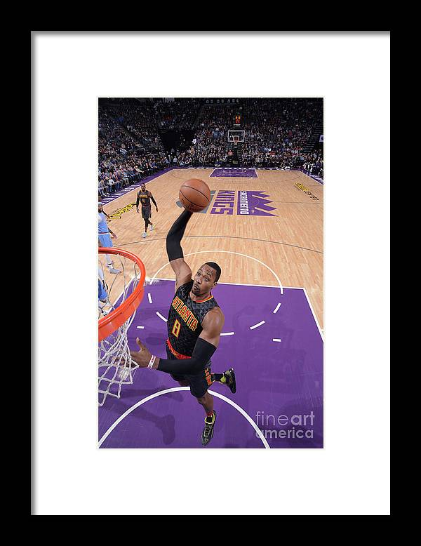 Nba Pro Basketball Framed Print featuring the photograph Dwight Howard by Rocky Widner