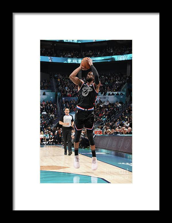 Nba Pro Basketball Framed Print featuring the photograph Dwyane Wade by Andrew D. Bernstein
