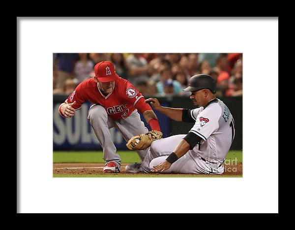 People Framed Print featuring the photograph Eduardo Escobar by Christian Petersen
