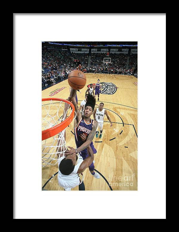 Smoothie King Center Framed Print featuring the photograph Elfrid Payton by Tyler Kaufman