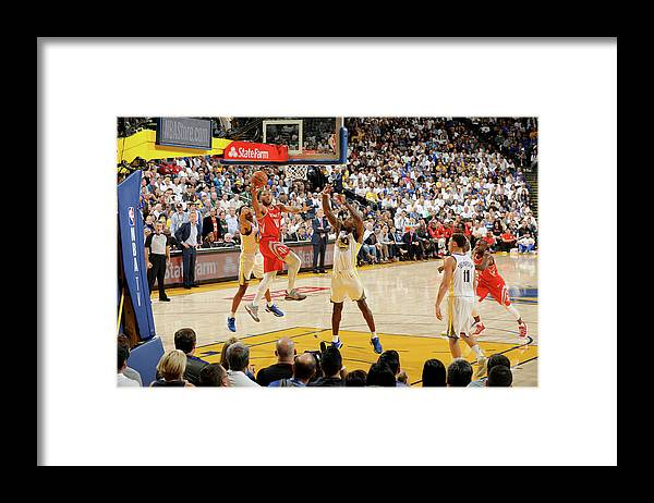 Nba Pro Basketball Framed Print featuring the photograph Eric Gordon by Andrew D. Bernstein