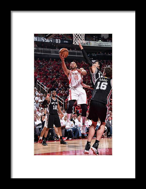 Playoffs Framed Print featuring the photograph Eric Gordon by Bill Baptist