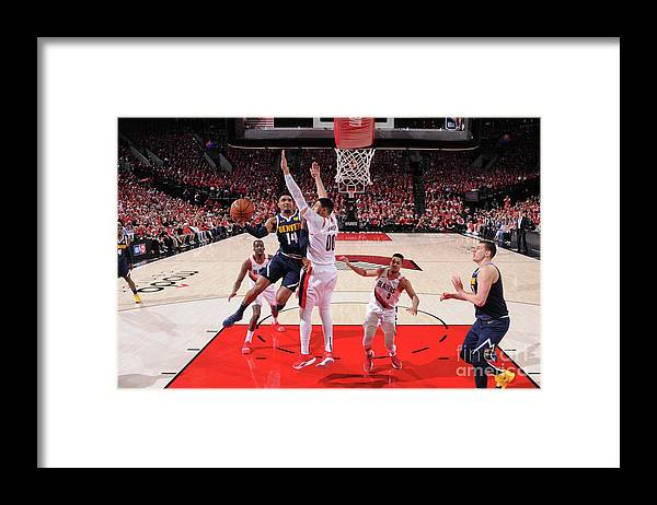 Playoffs Framed Print featuring the photograph Gary Harris by Sam Forencich