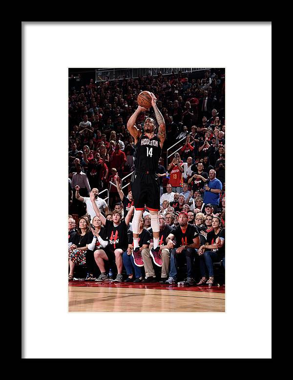 Playoffs Framed Print featuring the photograph Gerald Green by Bill Baptist