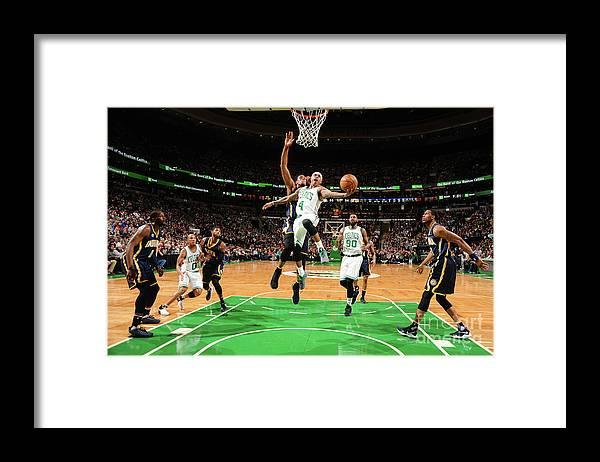 Nba Pro Basketball Framed Print featuring the photograph Isaiah Thomas by Brian Babineau
