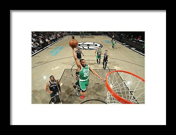 Playoffs Framed Print featuring the photograph Jabari Parker by Nathaniel S. Butler