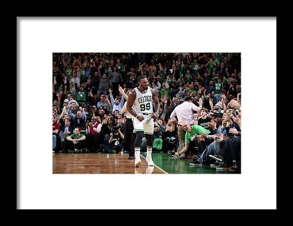 Nba Pro Basketball Framed Print featuring the photograph Jae Crowder by Brian Babineau