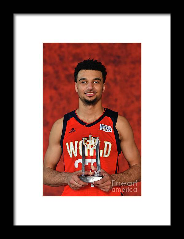 Smoothie King Center Framed Print featuring the photograph Jamal Murray by Jesse D. Garrabrant