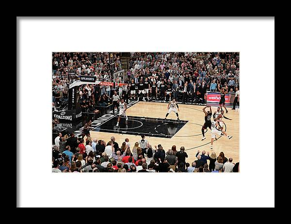 Playoffs Framed Print featuring the photograph James Harden by David Dow