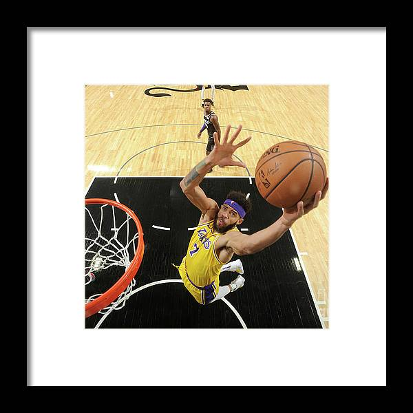 Nba Pro Basketball Framed Print featuring the photograph Javale Mcgee by Andrew D. Bernstein