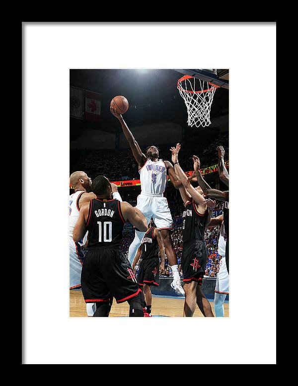 Playoffs Framed Print featuring the photograph Jerami Grant by Layne Murdoch