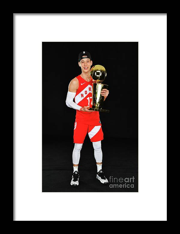Playoffs Framed Print featuring the photograph Jeremy Lin by Jesse D. Garrabrant