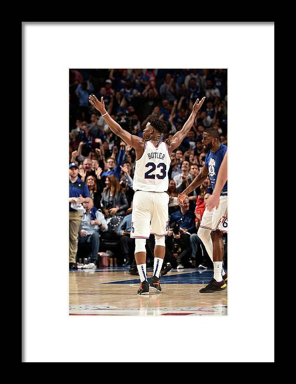 Playoffs Framed Print featuring the photograph Jimmy Butler by David Dow