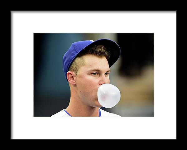 People Framed Print featuring the photograph Joc Pederson by Harry How