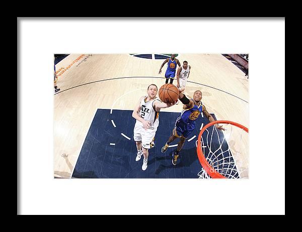 Playoffs Framed Print featuring the photograph Joe Ingles by Melissa Majchrzak