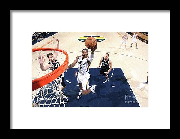 Nba Pro Basketball Framed Print featuring the photograph Joe Johnson by Melissa Majchrzak