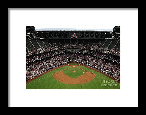 Motion Framed Print featuring the photograph Josh Fields by Christian Petersen