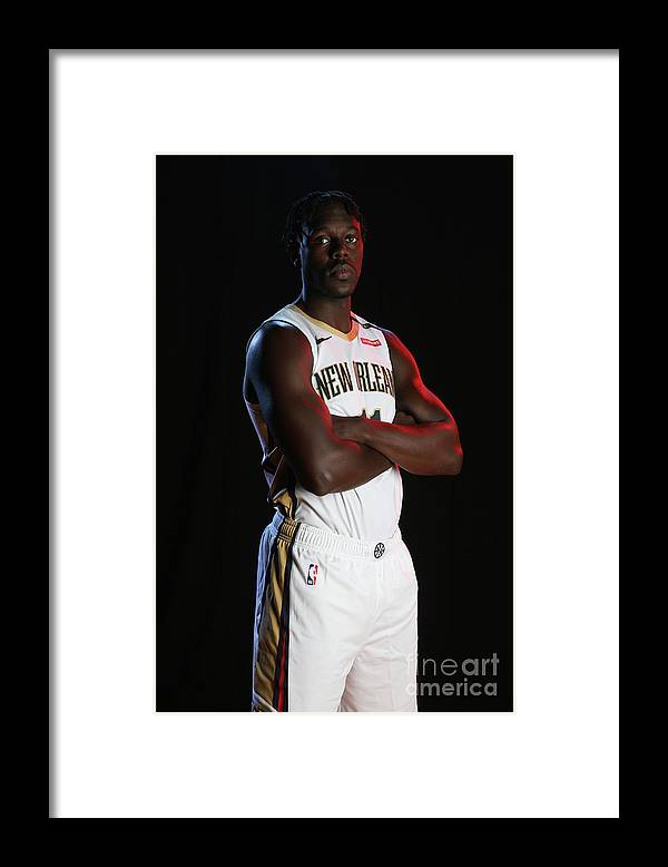 Media Day Framed Print featuring the photograph Jrue Holiday by Layne Murdoch Jr.