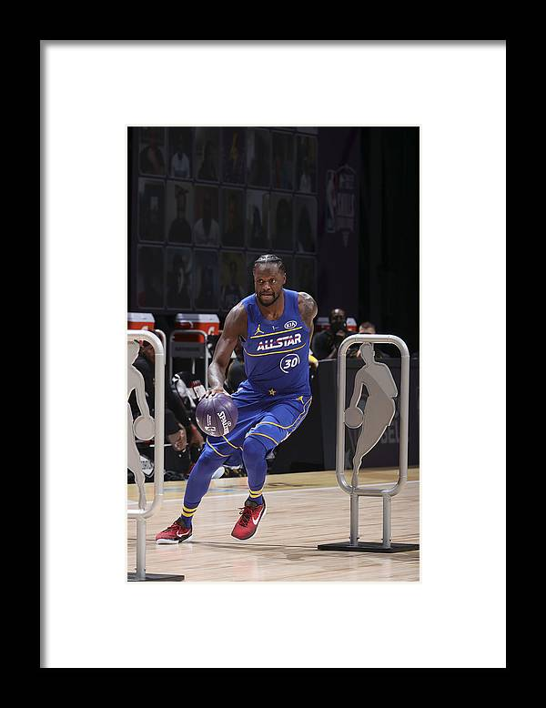 Atlanta Framed Print featuring the photograph Julius Randle by Nathaniel S. Butler