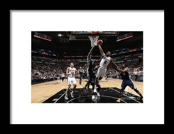 Playoffs Framed Print featuring the photograph Kawhi Leonard by Joe Murphy