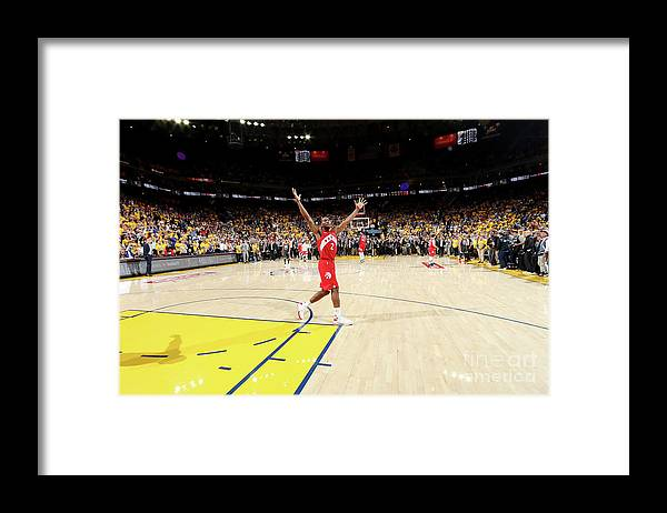 Playoffs Framed Print featuring the photograph Kawhi Leonard by Nathaniel S. Butler